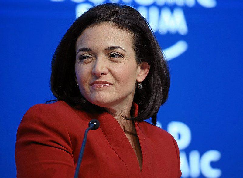 5. Sheryl Sandberg – COO do Facebook - Crédito: World Economic Forum on Visualhunt / CC BY-NC-SA/33Giga/ND