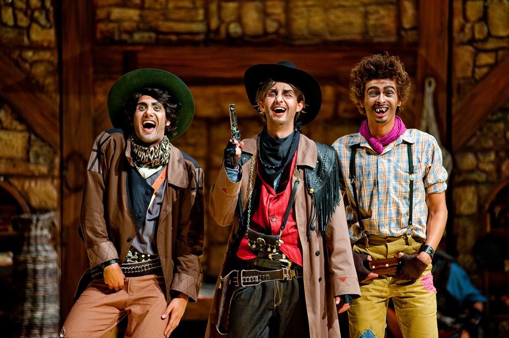 Musical, a atração O Sonho do Cowboy presta homenagem a Beto Carrero, fundador do parque e morto em 2008 - Divulgação - Divulgação/Rota de Férias/ND