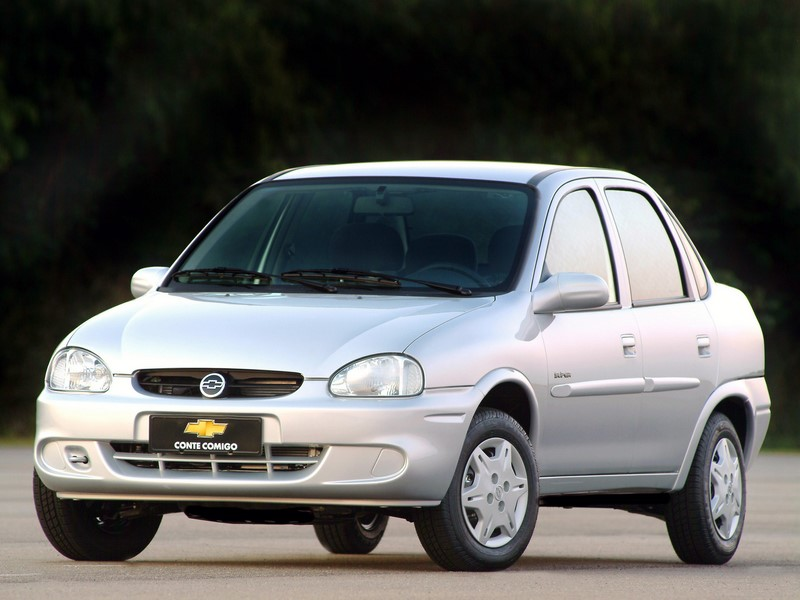 6º- Chevrolet Classic: 43.859 unidades - Foto: Divulgação - Foto: Divulgação/Garagem 360/ND