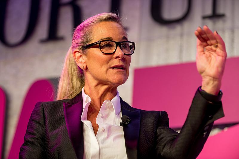 6. Angela Ahrendts – Vice-presidente Sênior de Varejo da Apple - Crédito: Fortune Most Powerful Women on Visual Hunt / CC BY-NC-ND/33Giga/ND