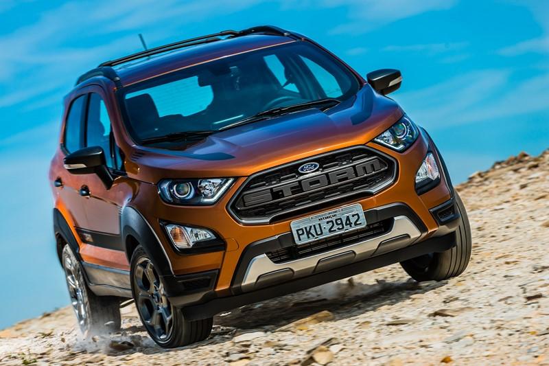 6- Ford EcoSport: 13.049 unidades - Foto: Divulgação - Foto: Divulgação/Garagem 360/ND
