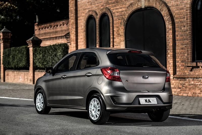6- Ford Ka S: R$ 45.590 - Foto: Divulgação - Foto: Divulgação/Garagem 360/ND