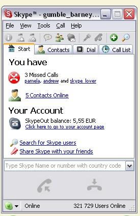 Acima, ainda em 2004, a imagem do Skype para Mac OS X - Foto: Divulgação/33Giga/ND