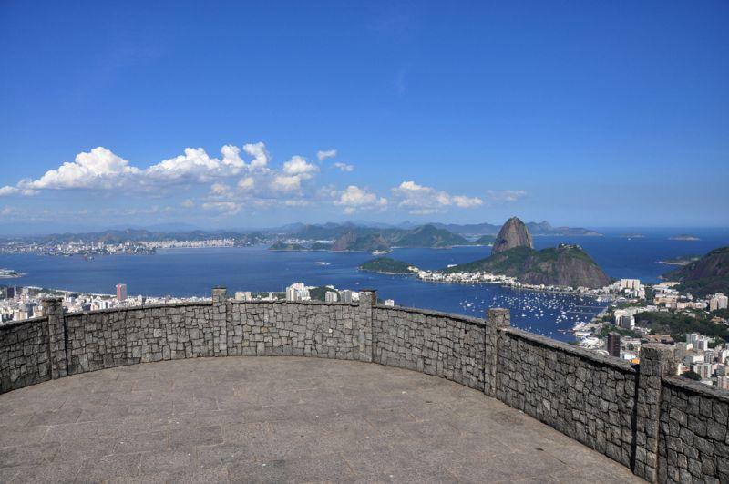 Os principais pontos turísticos da cidade podem ser observados a partir do Mirante Dona Marta - Alexandre Macieira/Riotur - Alexandre Macieira/Riotur/Rota de Férias/ND