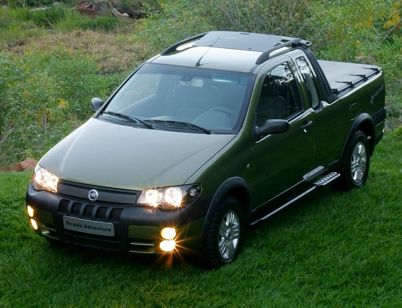8º- Fiat Strada: 28.520 unidades - Foto: Divulgação - Foto: Divulgação/Garagem 360/ND