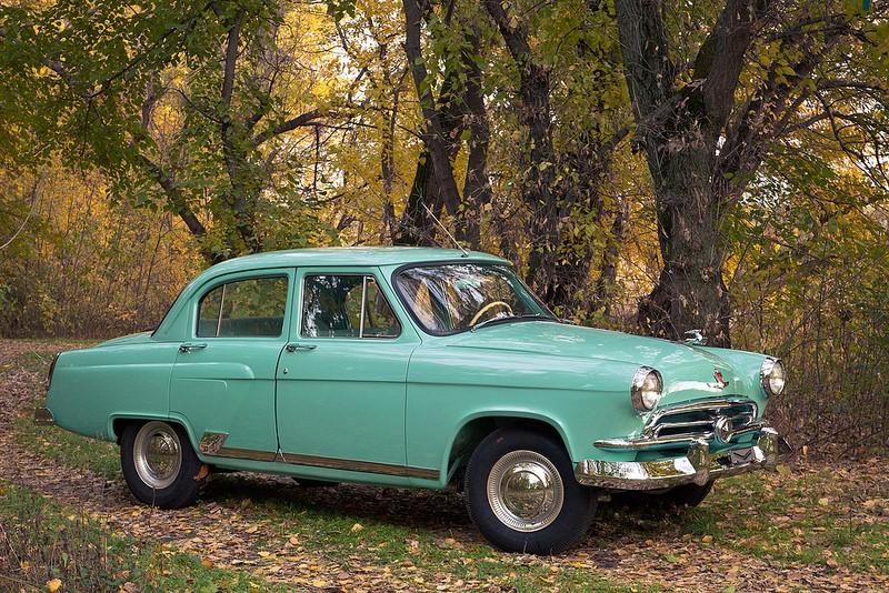 Fabricado pela Gaz, montadora da União Soviética, o Volga ainda é bastante comum na Rússia. O modelo foi produzido entre 1955 e 2010 - Foto: W.Grabar via Visual hunt / CC BY-NC - Foto: W.Grabar via Visual hunt / CC BY-NC/Garagem 360/ND