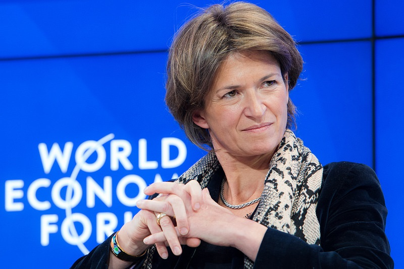 8. Isabelle Kocher – CEO da Engie - Crédito: World Economic Forum on VisualHunt.com / CC BY-NC-SA/33Giga/ND
