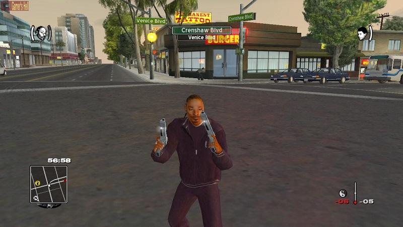 Snoop Dogg – True Crime: Streets of L.A. (2003) - Crédito: Divulgação/33Giga/ND