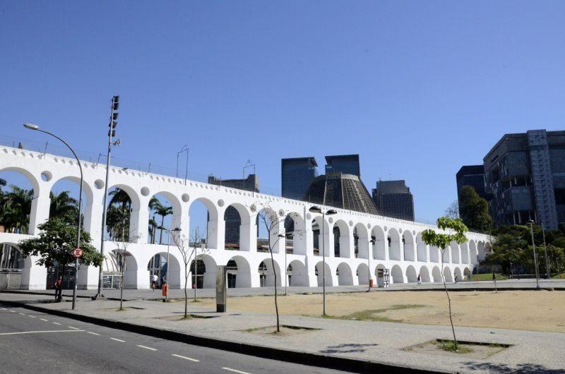 Construídos no período colonial, os Arcos da Lapa se tornaram um cartão-postal do Rio de Janeiro - Alexandre Macieira/Riotur - Alexandre Macieira/Riotur/Rota de Férias/ND