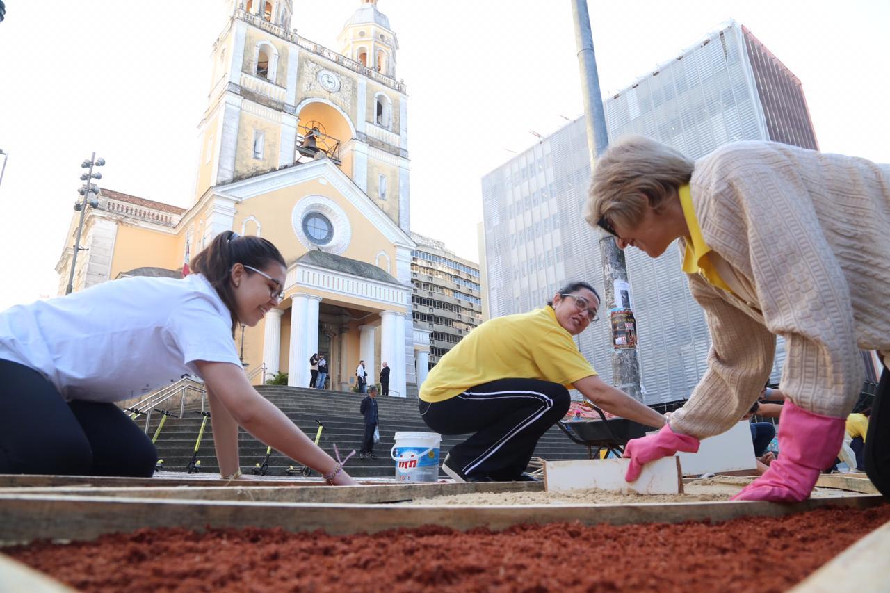 Na Arquidiocese de Florianópolis, as 71 Paróquias celebram a Missa Solene, seguida de procissão - Anderson Coelho/ND