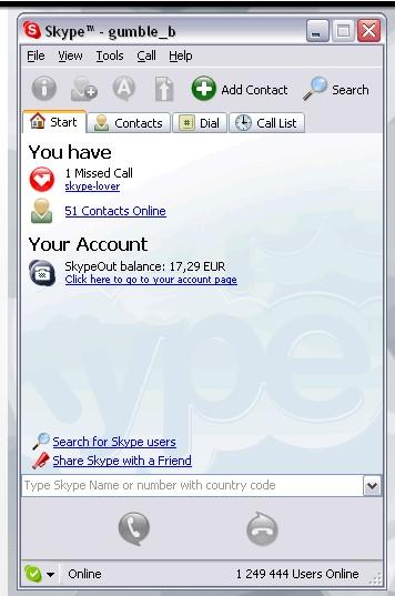 Acima, uma imagem da interface do programa em 2005 - Foto: Divulgação/33Giga/ND