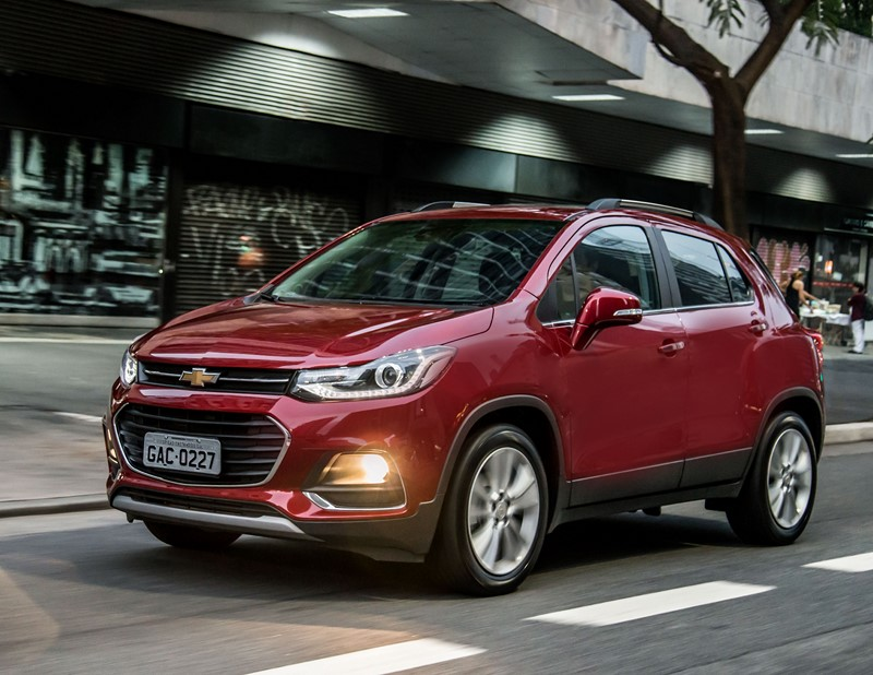 9- Chevrolet Tracker: 7.484 unidades - Foto: Divulgação - Foto: Divulgação/Garagem 360/ND