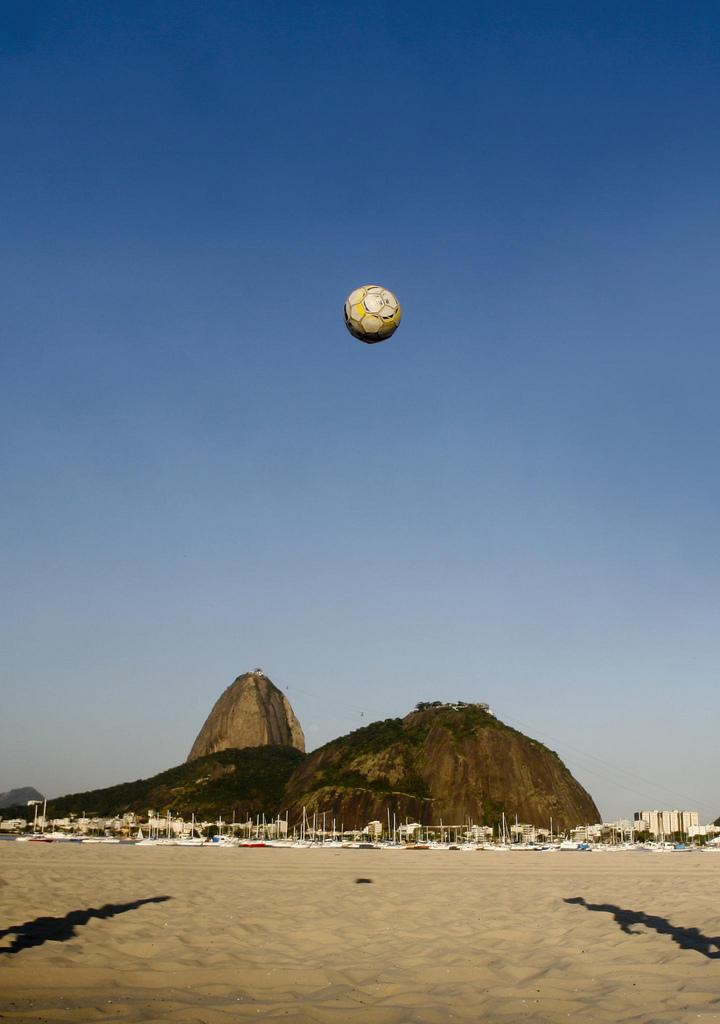 A Praia do Flamengo é o lugar perfeito para relaxar olhando o Pão de Açúcar - Alexandre Macieira/Riotur - Alexandre Macieira/Riotur/Rota de Férias/ND