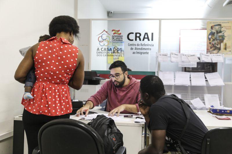 Crai atendeu 5,4 mil imigrantes em um ano – Anderson Coelho/ND