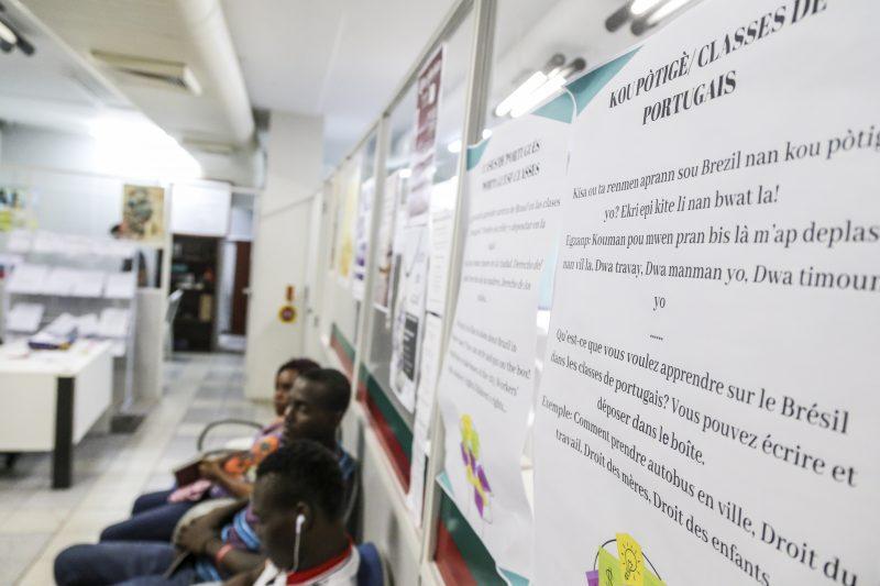 Mais de 100 currículos de imigrantes foram enviados para empresas parceiras do Crai em um ano de serviço – Anderson Coelho/ND
