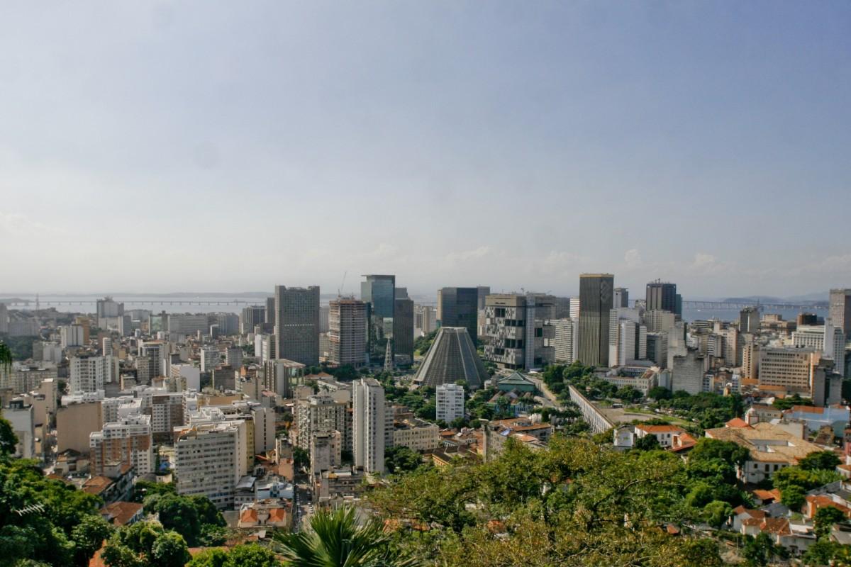 O Centro do Rio de Janeiro é uma mistura de construções antigas e prédios modernos - Alexandre Macieira/Riotur - Alexandre Macieira/Riotur/Rota de Férias/ND
