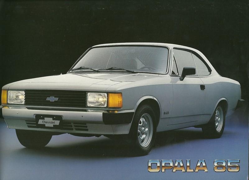 Chevrolet Opala - Foto: Divulgação - Foto: Divulgação/Garagem 360/ND