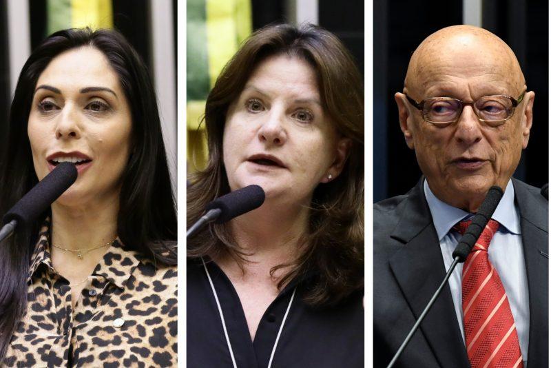 Geovânia, Carmen e Amin – Divulgação/ND