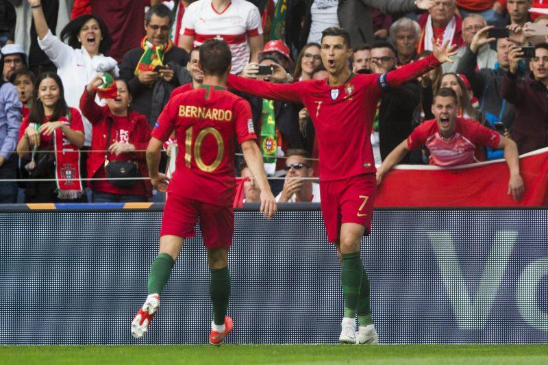 Cristiano Ronaldo brilha por Portugal – Foto: ESTADÃO CONTEÚDO/ND