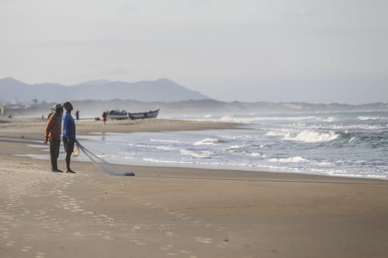Litoral Sul de Santa Catarina e Florianópolis devem ter mar agitado nos próximos dias – Anderson Coelho/ND