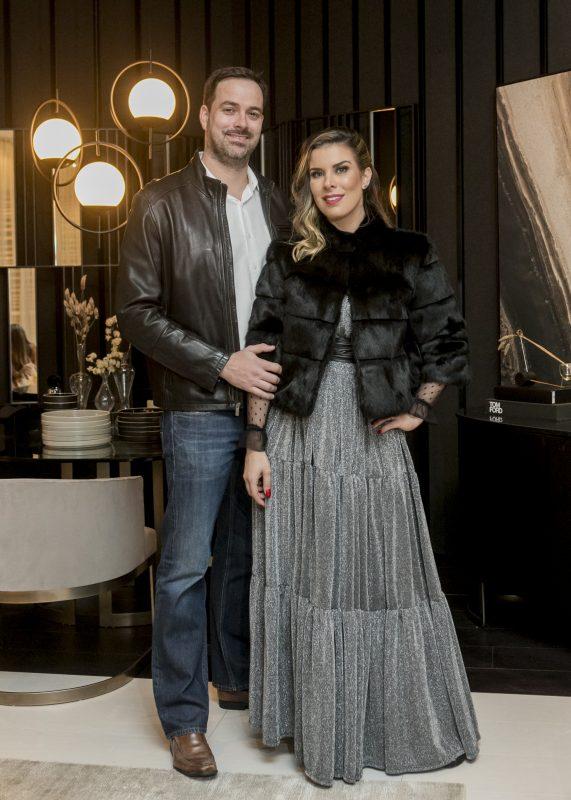 Fabio Santos e Mariana Pesca – Créditos: Fernando Willadino/ND