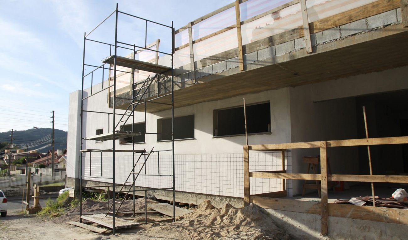Unidade Básica de Saúde do Real Parque é construída no momento, com um investimento de R$ 884 mil - Divulgação