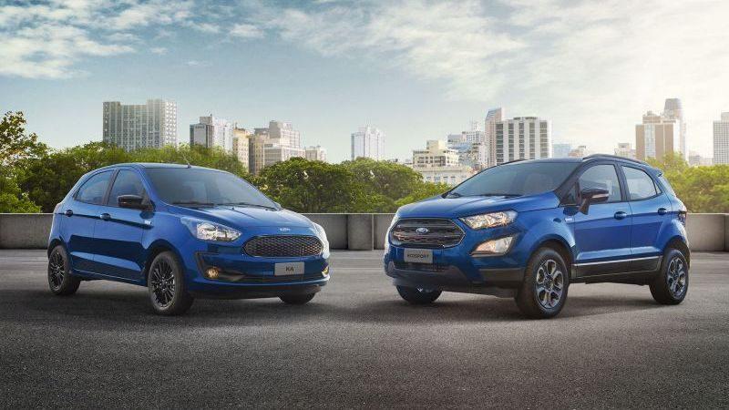 Ford lança série limitada para Ka e EcoSport - Foto: Divulgação