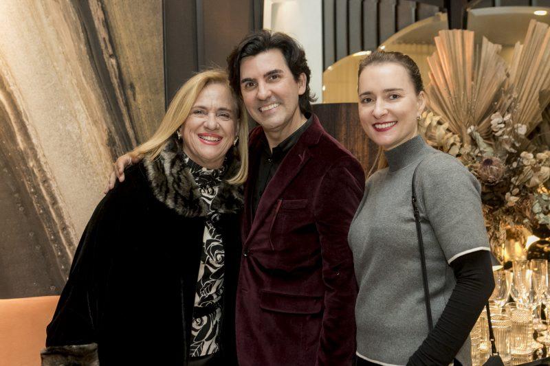 Paula Pereira Oliveira, Evandro Gaspar e Andreza michelon – Créditos: Fernando Willadino/ND