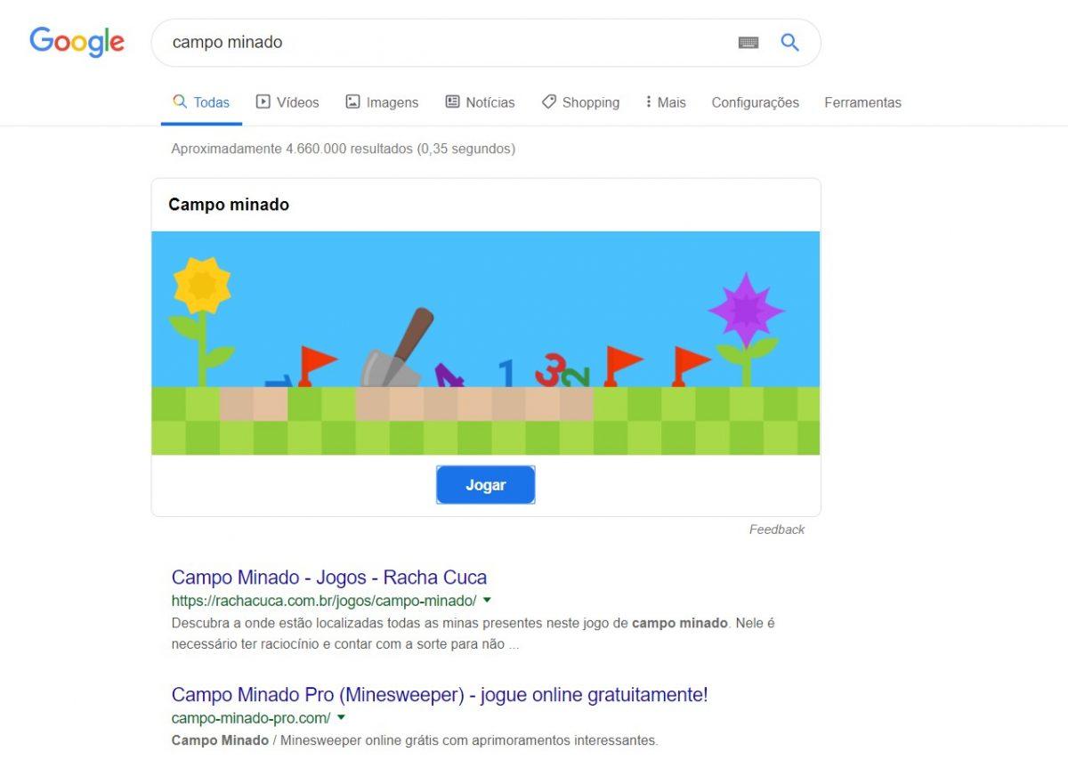 Campo Minado - o clássico jogo de explosão - Reprodução /33Giga/ND