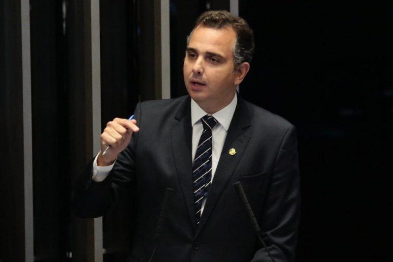 Presidente do Senado, Rodrigo Pacheco (DEM-MG) – Foto: Twitter/Reprodução/ND