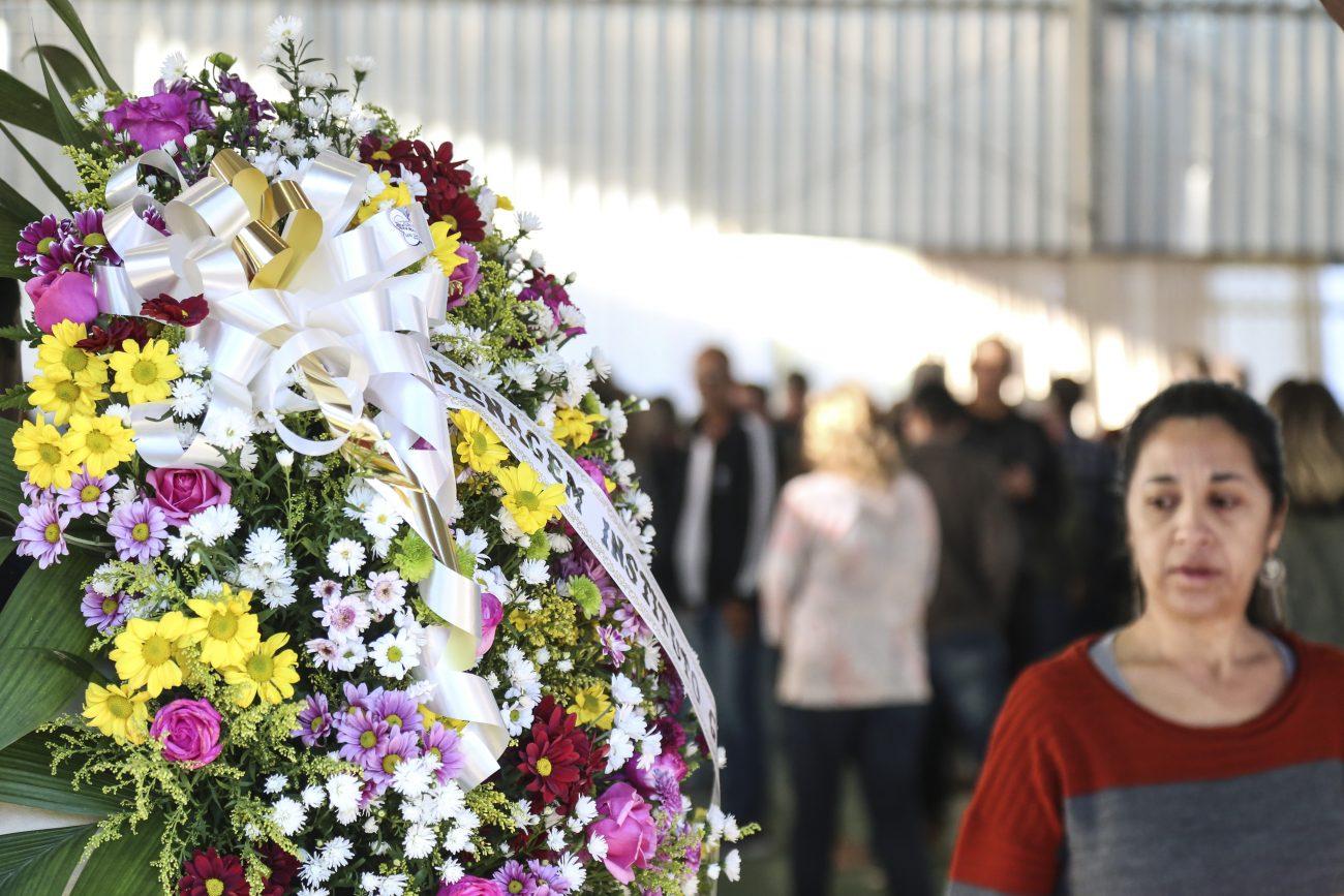 O enterro das vítimas está marcado para as 16h, no Cemitério São Miguel, em Biguaçu - Anderson Coelho/ND