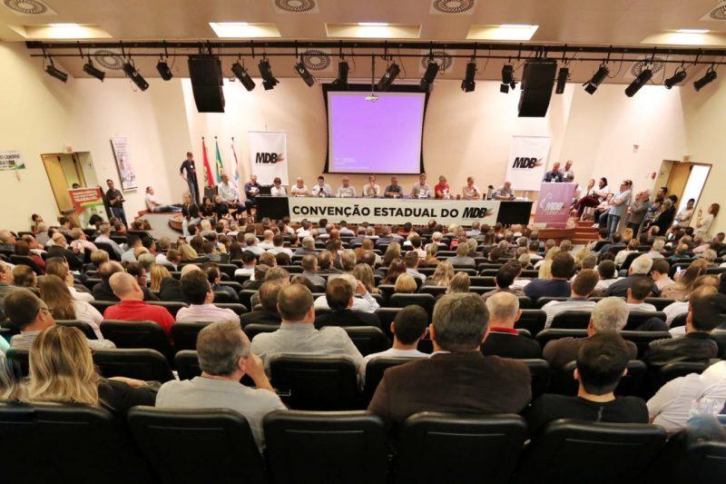 Convenção do MDB - Divulgação/ND