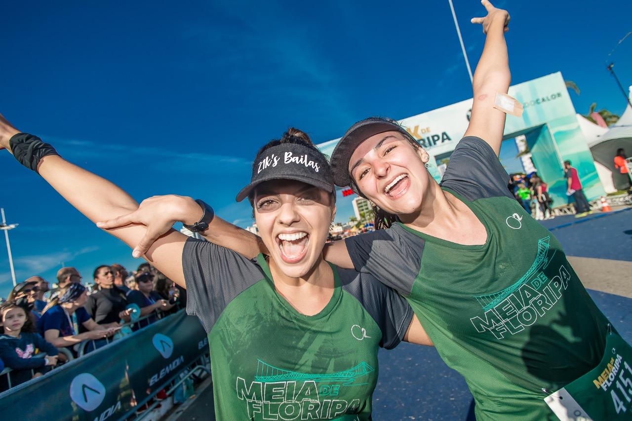 Maratona de Florianópolis 2019 reuniu mais de 12 mil competidores - Daniel Wenerck/divulgação/ND