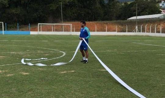 Técnico Alberto Valentim comanda treinamentos do Leão em Águas Mornas – André Palma Ribeiro/Avaí F.C