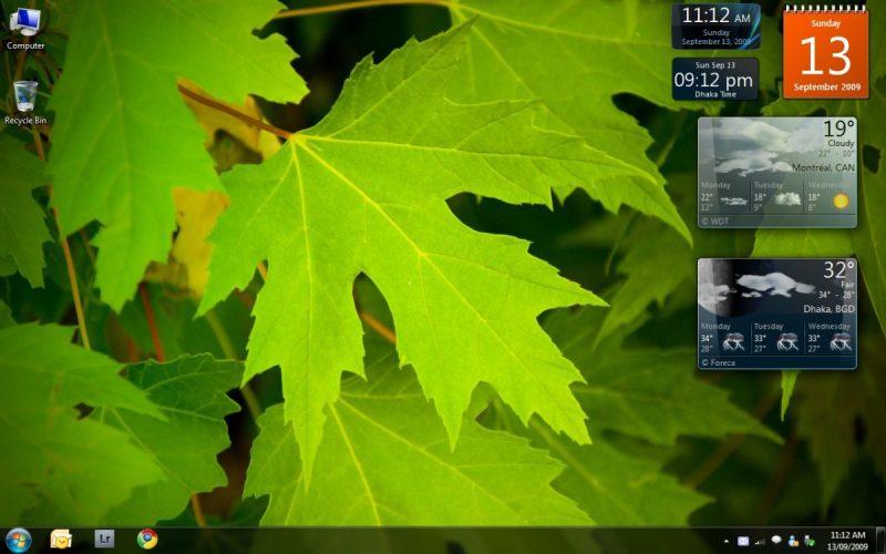 Windows 7 – Outubro de 2009: Esse software trouxe mudanças visuais pequenas em relação ao seu antecessor, mas era mais rápido, estável e fácil de utilizar. Por causa do aumento na venda de notebooks, o Windows 7 focou em funções para redes sem fio. Assim, conforme a escolha, o sistema ajustava automaticamente as configurações de compartilhamento de arquivos e impressoras. - Crédito: By TMAB2003 via Flickr/33Giga/ND