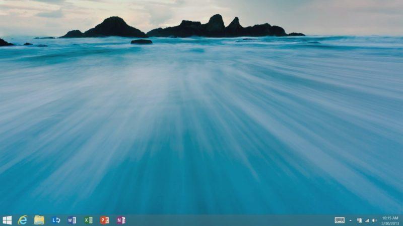 Windows 8.1 – Outubro de 2013: A Microsoft ouviu às reclamações dos usuários e lançou esse upgrade com o Menu Iniciar ressuscitado – ainda que não fosse tão intuitivo como antes. Outras novidades foram o fato de os consumidores poderem iniciar o computador diretamente a partir da Área de Trabalho, sem ter a necessidade de ver a interface Metro, e a aparição da assistente virtual Cortana. - Crédito: Divulgação/33Giga/ND