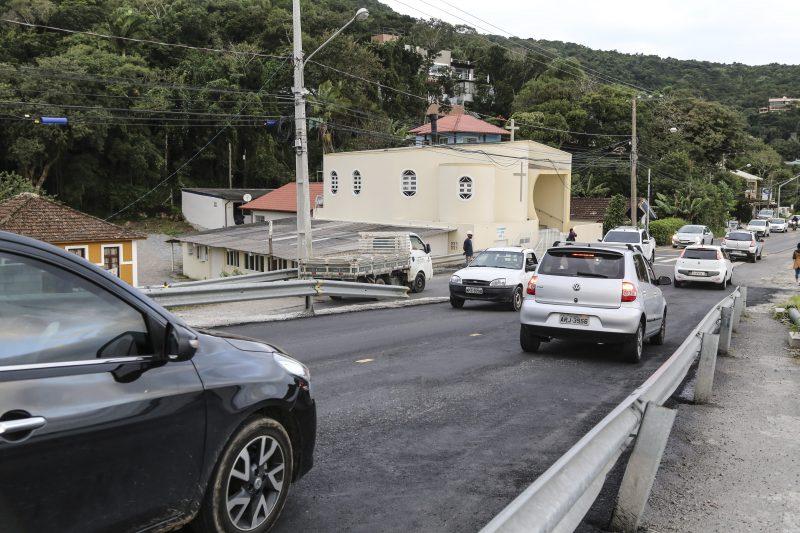 Duas pistas sobre a ponte estão liberadas. Foto: Anderson Coelho/ND