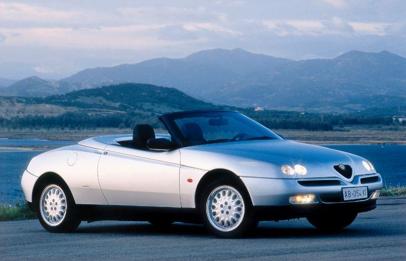 Alfa Romeo Spider 1996/1997 - R$ 65.900 - Foto: Divulgação - Foto: Divulgação/Garagem 360/ND
