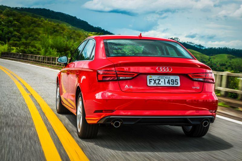 Audi A3 Sedan 2.0 TFSI 2016 - R$ 95.900 - Foto: Divulgação - Foto: Divulgação/Garagem 360/ND