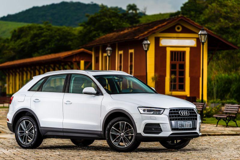 Audi Q3 2015/2016 - R$ 99.500 - Foto: Divulgação - Foto: Divulgação/Garagem 360/ND