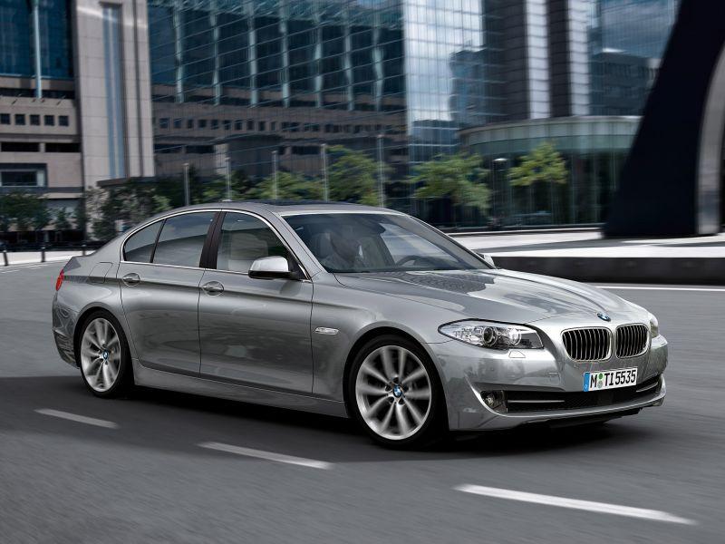 BMW 535i 2010/2011 - R$ 89.800 - Foto: Divulgação - Foto: Divulgação/Garagem 360/ND
