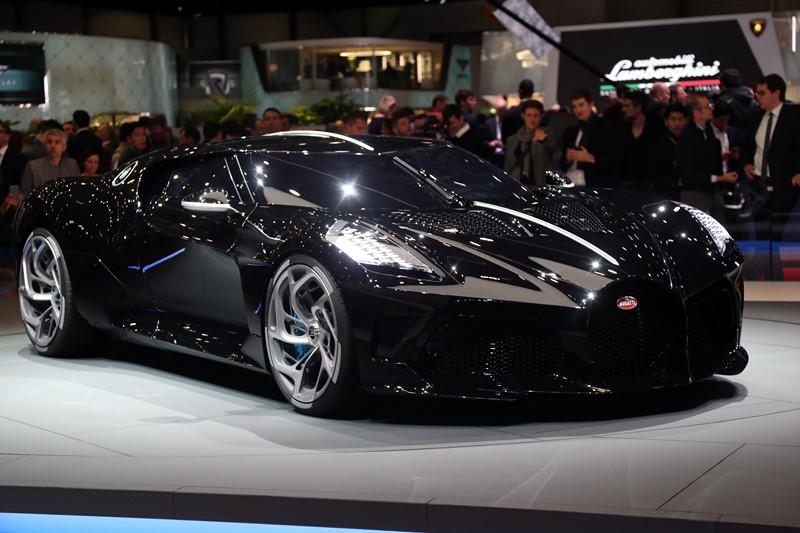 Cristiano Ronaldo pode ter comprado o Bugatti La Voiture Noire - Foto: Divulgação/Newspress - Foto: Divulgação/Newspress/Garagem 360/ND