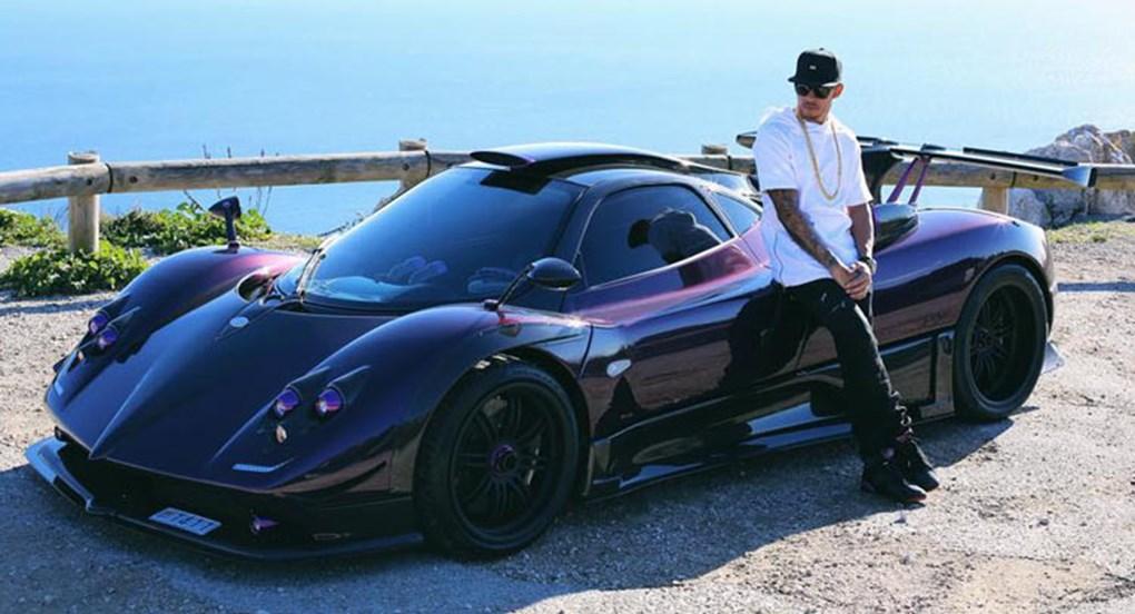 Pagani Zonda 760 LH: o superesportivo italiano já é raro, mas Hamilton conta com uma versão ainda mais exclusiva, personalizada de acordo com os gostos do tetracampeão - Foto: Reprodução/Instagram - Foto: Reprodução/Instagram/Garagem 360/ND