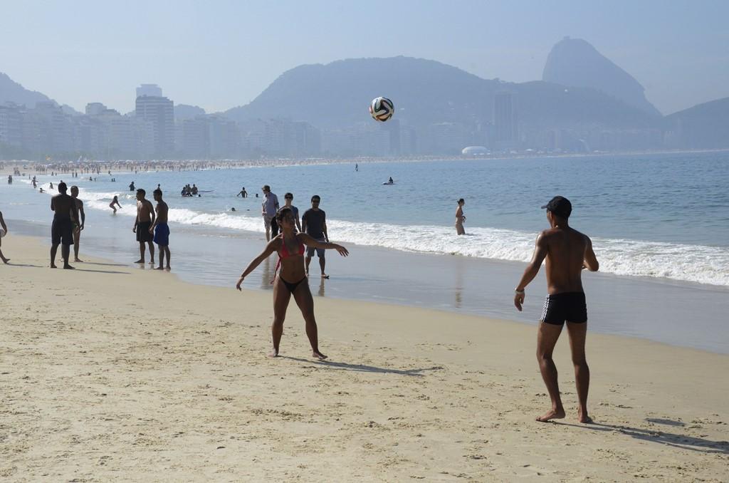 Praia de Copacabana - Alexandre Macieira/Riotur - Alexandre Macieira/Riotur/Rota de Férias/ND