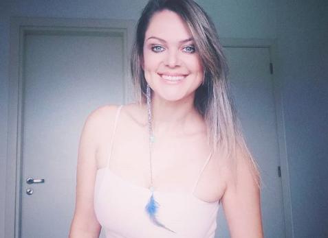 Daiane Guedes em postagem nas redes sociais - Instagram