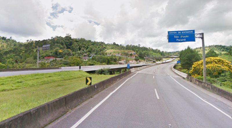 Acusado abandonou carro no Paraná e seguiu de carona até a Capital de São Paulo, onde segue foragido – Google Street View/Reprodução/ND