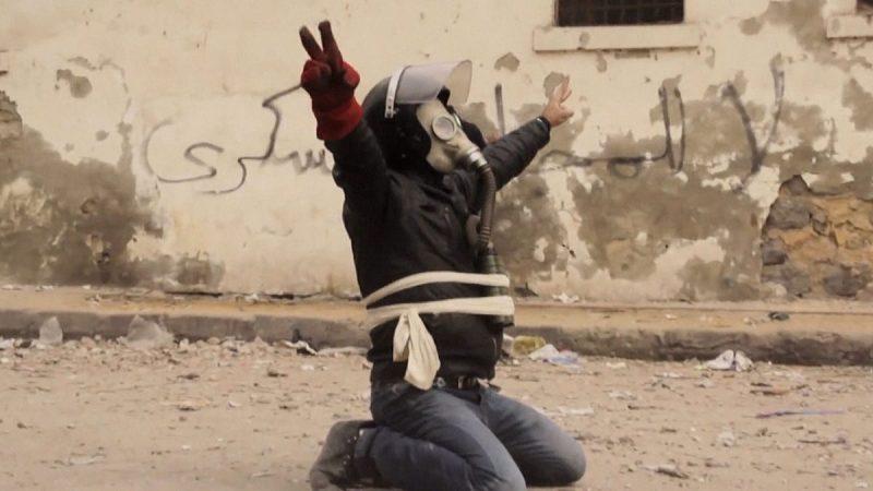 The Square (2013) – Indicado ao Oscar de Melhor Documentário, captura em primeira mão a Revolução Egípcia e as manifestações que derrubaram dois presidentes. - Crédito: Divulgação/33Giga/ND