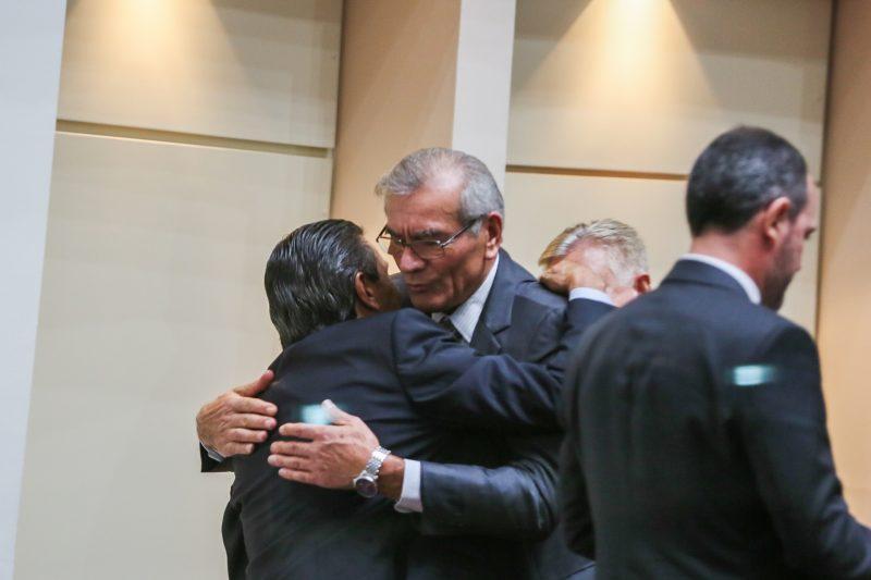 Recebe cumprimento de Silvio Dreveck - Fábio Queiroz/Agência AL/ND