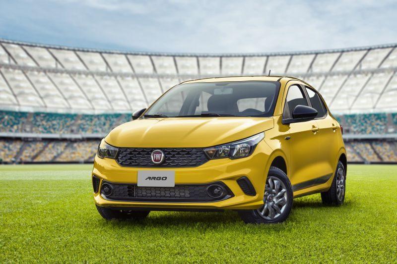 Fiat lança série especial Argo Seleção, limitada a 1.500 unidades - Foto: Divulgação