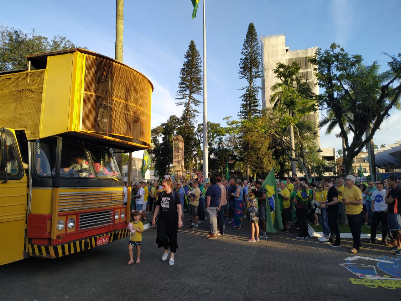 Manifestação em Joinville - RICTV